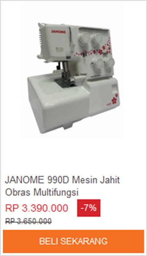 Mesin Obras Multi Fungsi mesin obras harga spesifikasi lazada id belanja