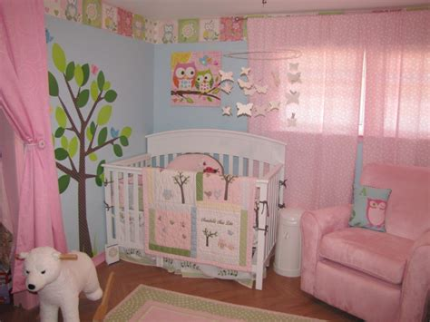 Pink And Green Curtains Nursery Pink And Green Baby Curtains Curtain Menzilperde Net