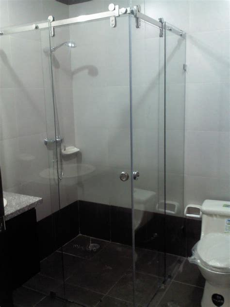 cabinas de bano casalum aluminio  vidrio