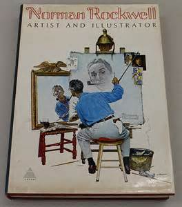 Norman Rockwell Coffee Table Book Norman Rockwell Book Lot 218