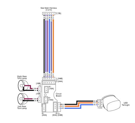 wiring diagram for harley light wiring diagram