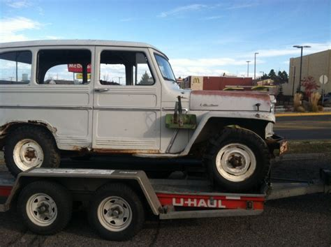 1961 Willys Jeep Truck 1961 Willys Jeep Panel Wagon Truck 4 215 4 For Sale