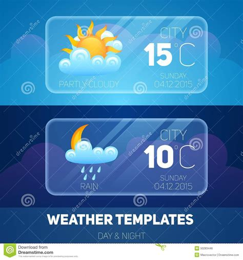 hsr layout weather now weather mobile application stock vector image of