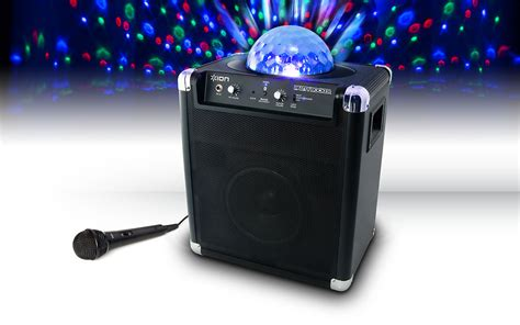 speakers with lights party rocker wireless speaker system with built in light