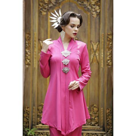 Set Kebaya Siti kebaya mahsuri pink