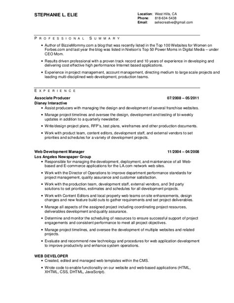ecommerce developer resume awesomethesis x fc2