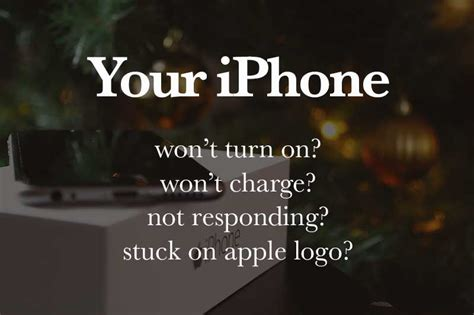 iphone 5 5s 5c 6 won t turn on or charge or stuck on apple logo or not responding p t