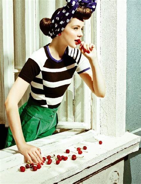 5 Vintage Style Inspirations by 50s Photography Fotografia Retro Fashion 50 S