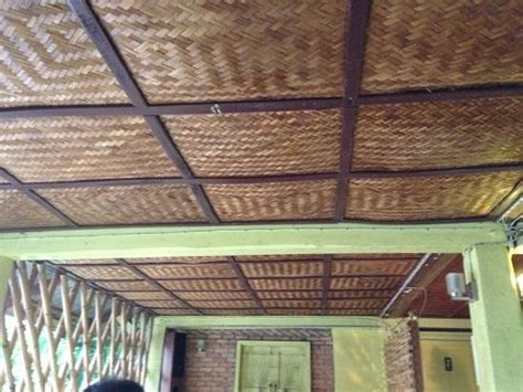 The Bamboo Ceiling the bamboo ceiling of the restaurant picture of living