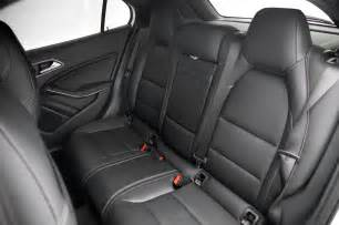 Mercedes Seat 2015 Mercedes Gla250 4matic Rear Interior Seats Photo 9