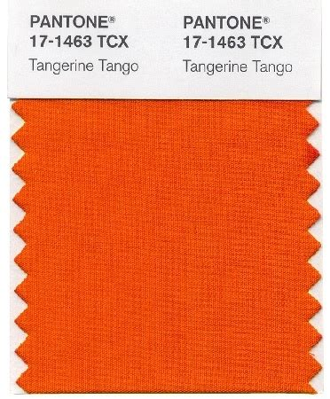 color of the year pantone tangerine tango in 2012 the english room