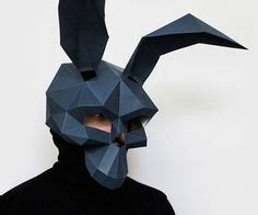 donnie darko greeting card template rabbit skull mask diy printable skull mask instant pdf