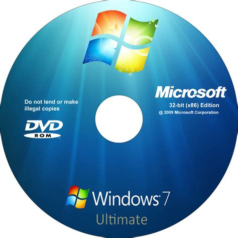 window cover windows 7 ultimate dvd cover by sebavalenz on deviantart