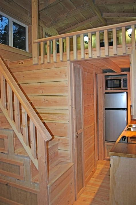 houses with stairs cape cod molecule tiny house for sale two lofts w stairs