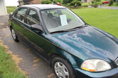 1998 honda civic lx parts sell used 1998 honda civic lx sedan 4 door 1 6l well
