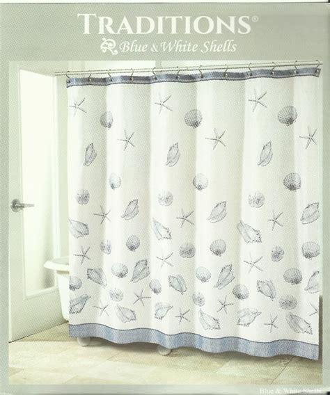 sand dollar shower curtain new coastal blue sea shells shower curtain fabric nautical