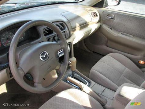 Mazda 626 Interior by 2001 Mazda 626 Lx Interior Color Photos Gtcarlot