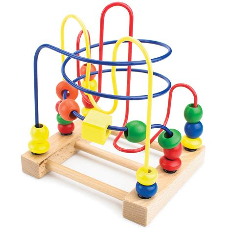 developmental wooden bead maze r1 llc r1 llc