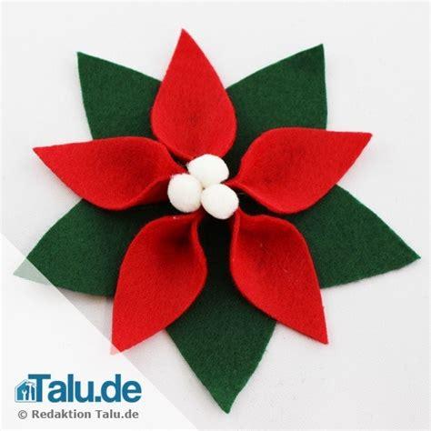 Blumen Aus Filz Basteln 3046 by Weihnachtsstern Falten 5 Ideen Zum Basteln Talu De