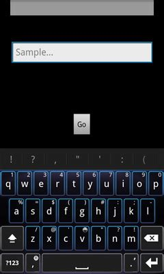 android layout keyboard visible android how to make sure specific view is visible when