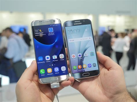 Samsung Galaxy S7 edge vs Galaxy S6: first look comparison