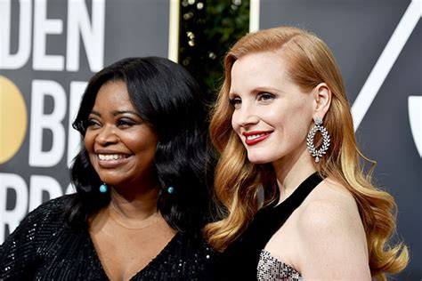 octavia spencer jessica chastain comedy octavia spencer and jessica chastain made five times