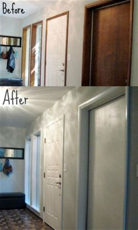 Hand Planers Tools Painting Wood Trim White Before And