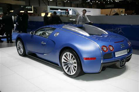 Bugati Veyron by Geneva 2009 Bugatti Veyron Quot Bleu Centenaire Quot