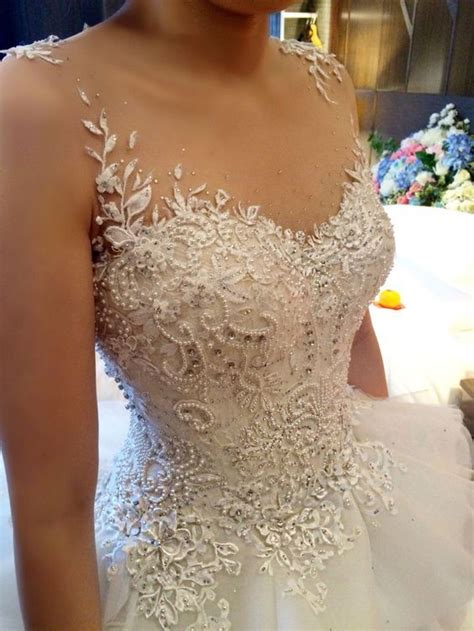 Dress Siska corsetery detail for siska lie wedding dress handmade