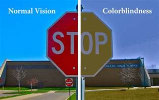 color blind colorblind comparison