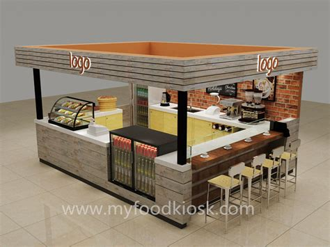 Tile Layout Designs original style 3d coffee kiosk design in mall for sale