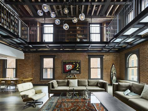 house design new york tribeca citizen loft peeping 14 000 square foot triplex