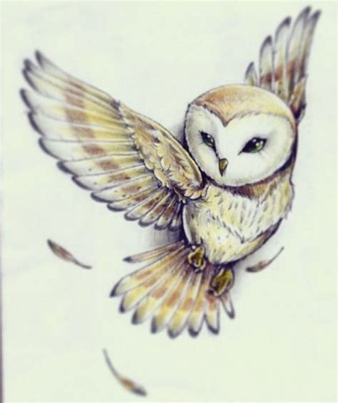 white owl tattoo owl reminds me of the one in labyrinth