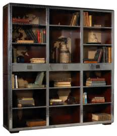 Book Cases Heritage Ferault Bookcase Industrial Bookcases By Heritage
