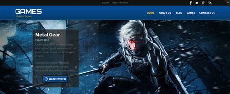 bootstrap themes games 10 bootstrap gaming templates designerslib com
