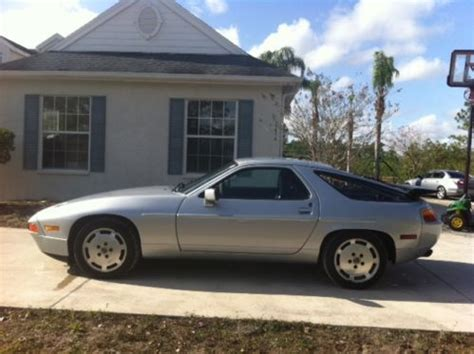 buy car manuals 1989 porsche 928 transmission control buy used 1989 porsche 928 with very true low miles and manual transmission in bradenton florida