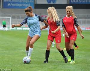 uk sports celebrities corrie s brooke vincent shows off her footwork as a