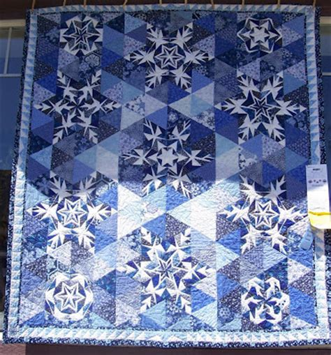 Snowflake Quilting Design by Rebel S Work In Progress Quilt Show 2008