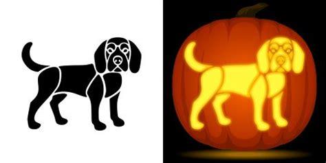 lab pumpkin pattern beagle pumpkin carving stencil free pdf pattern to