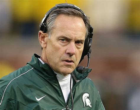 michigan state coach dantonio not happy with question about jim harbaugh