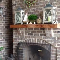 outdoor fireplace mantel escondido house