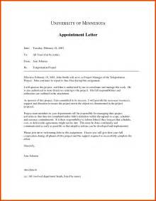 Appointment Letter Format Doc Letter Of Appointment Simple Letter Of Appointment Sample 288547 Png Proposal Format Apa