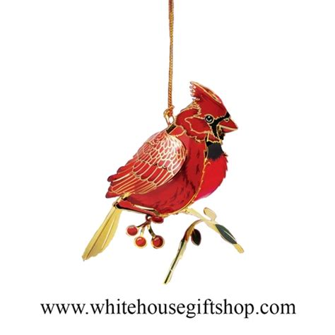 cardinal bird ornament year round display summer sale