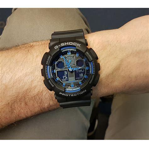 G Shock Ga 100 Oribm g shock classic style ga 100 1a2er ga 100 1a2 horloge