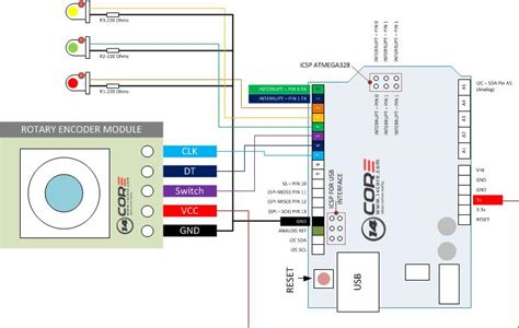 rotary encoder wiring diagram encoder free