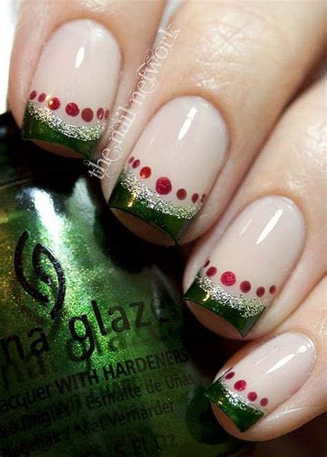 easy nail art for xmas easy nail art designs for christmas random talks