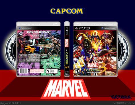 Original Playstation Ps3 Ultimate Marvel Vs Capcom Reg 2 Eu marvel vs capcom 3 fate of two worlds playstation 3 box cover by igotmilk21