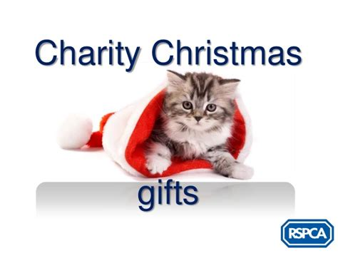 christmas gift donation charity rspca charity gifts