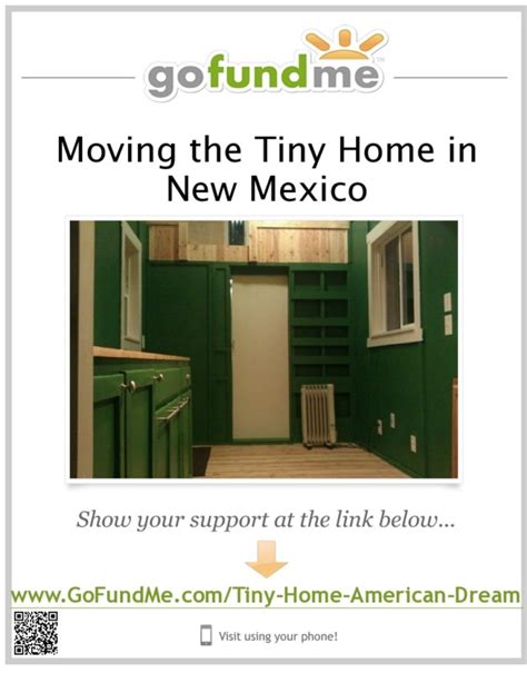 fundraiser by c brown moving the tiny home in new