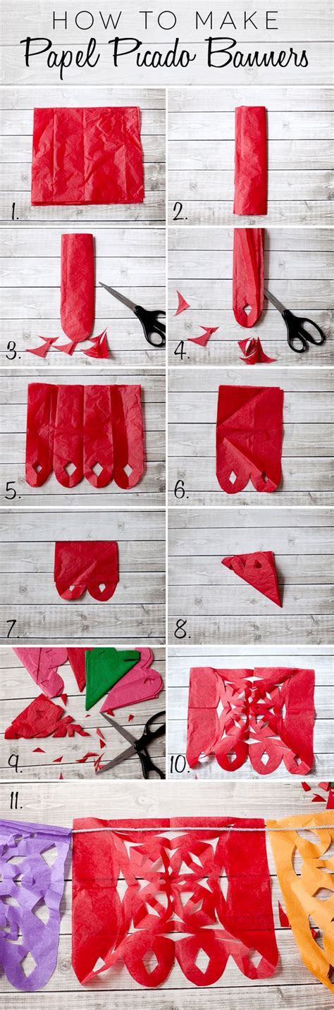 How To Make Mexican Paper Decorations - 25 best ideas about papel picado on paper